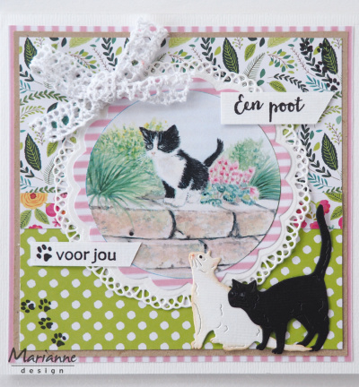 Marianne Design - IT608 - Tiny's kittens