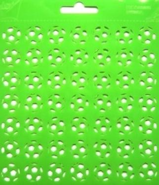 Joy!Crafts sjabloon stencil 6002/0816 voetballen