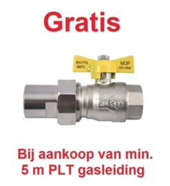 RVS gasleiding (PLT)