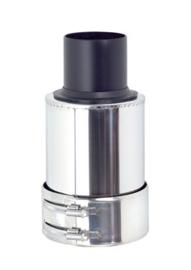 Ubbink Rolux Topsectie incl. klemband PP120/inox