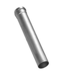 Rookgasafvoer ALU 80 mm- 2 meter