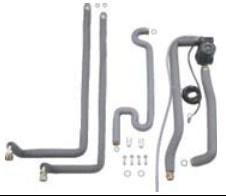 Junkers Installatieset N° 1642 voor combinatie met boiler Storacell ST135/160-3 E