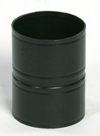 Ubbink Rolux Mof (zonder dichtingen) 80mm Kunststof PP & PE zwart