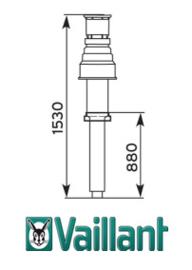 Basisset dakdoorvoer C33 - 60/100