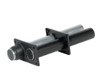 Ubbink Rolux 4G HR+ Dubbelpijpse muurdoorvoer aluminium (80-80)