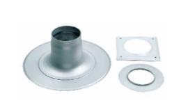 Bosch Plakplaat voor dakdoorvoer 60/100