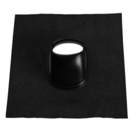 Ubbink Universele loodpan 131 zwart (25-45°)
