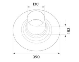 Aluminium dakplaat voor platte daken 60/100 - 80/125