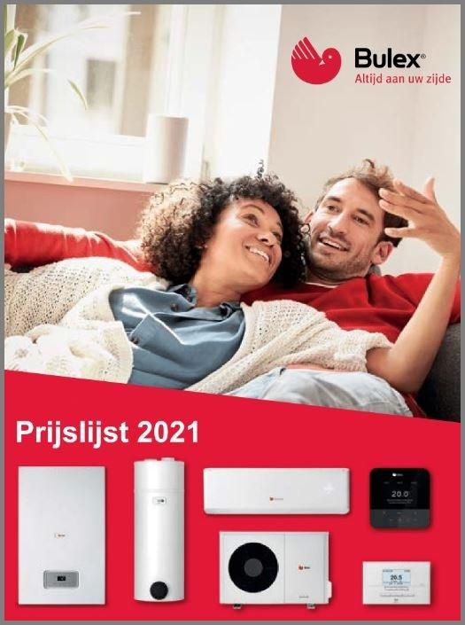 Officiële prijslijst Bulex 2021