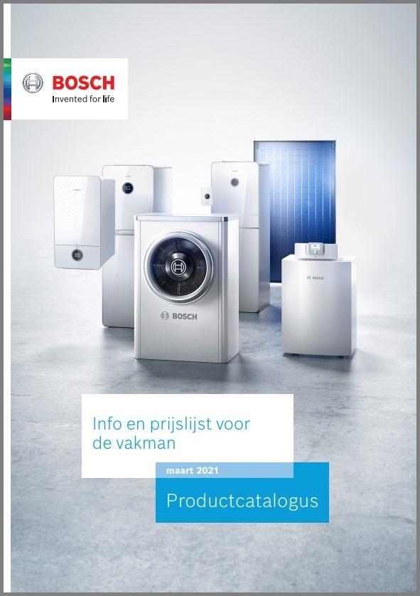Officiële prijslijst Bosch 2021