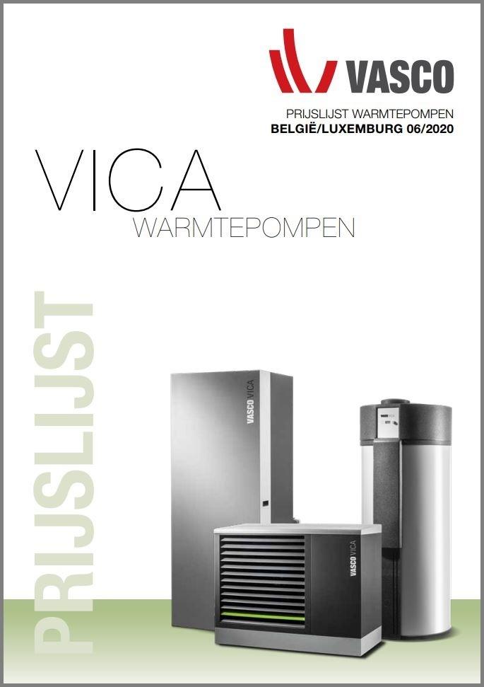 Officiële prijslijst Vasco radiatoren 2021