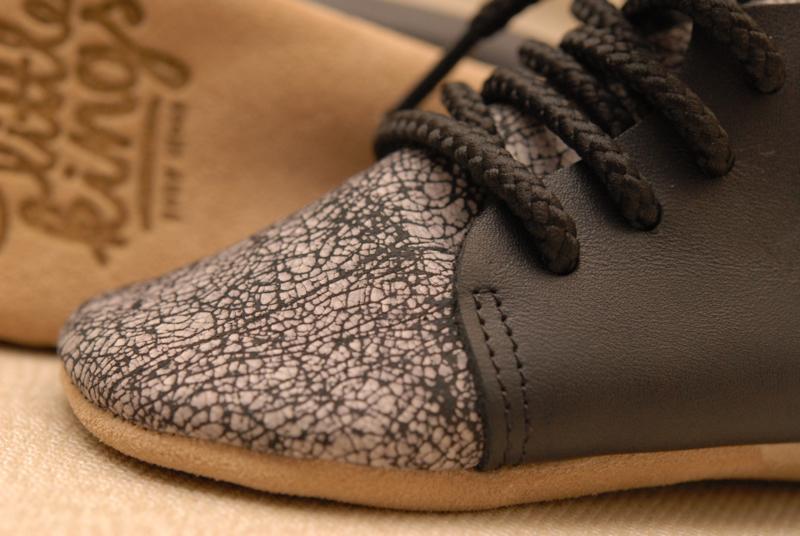 Basis schoentjes Zwart/Grijs