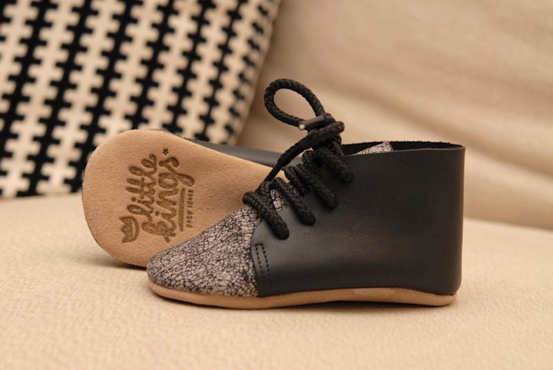 schoentjes Zwart/Grijs