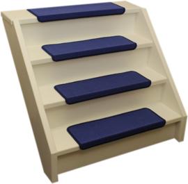 Elite Blaue Gerade Stufenmatten