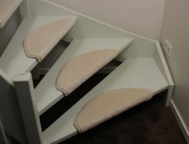 Wild Romance weiße Stufenmatten