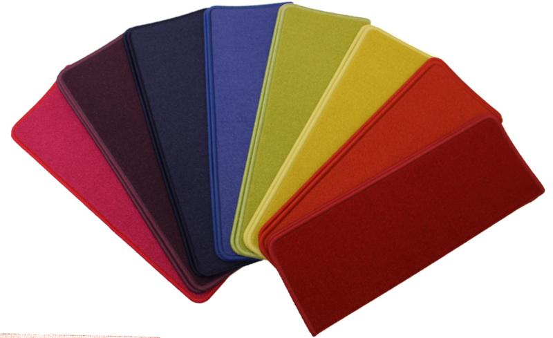 Elite regenboog pakket voor rechte trappen. pakket 15 Trapmatten