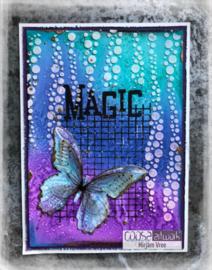 COOSA Crafts Clear Stamp #14 - Magic A7