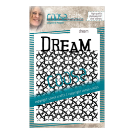 COOSA Crafts Clear Stamp #15 - Dream A7