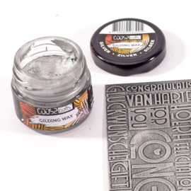 COOSA Crafts Gilding Wax - 20ml - Silver