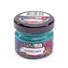 COOSA Crafts Gilding Wax - 20ml - Metallic Turkoois
