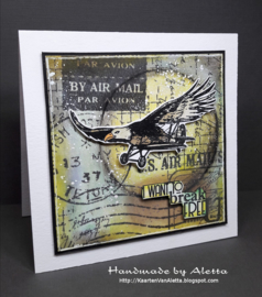 COOSA Crafts Clear Stamp #11 - Break Free A7