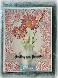 COOSA Crafts Embossing Folder - Bloom - 10/Pkg