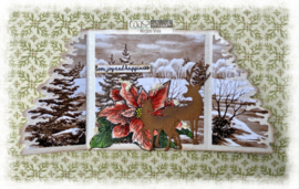 COOSA Crafts Clear Stamps #23 - Xmas Hugs 3 - A6