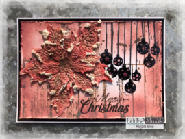 COOSA Crafts Clear Stamp #17 - Xmas wishes A6
