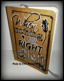 COOSA Crafts clear stamp #02 - Go Left (EN) A6