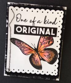 COOSA Crafts clear stamp #02 - Be Original (EN) - 3 pcs