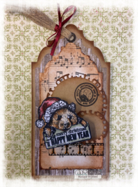 COOSA Crafts Clear Stamps #23 - Xmas Hugs 2 - A6