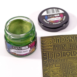 COOSA Crafts Gilding Wax - potje 20ml - green-groen-grün - 12 Qty