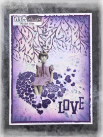 COOSA Crafts Clear Stamp #15 - Happy A7