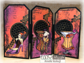 COOSA Crafts clear stamp #10 - Sexy Drink A7