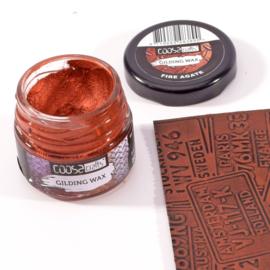 COOSA Crafts Gilding Wax - 20ml -  Jewels - Fire Agate - 12/Pkg