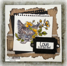 COOSA Crafts Clear Stamps #18 - All you need A7