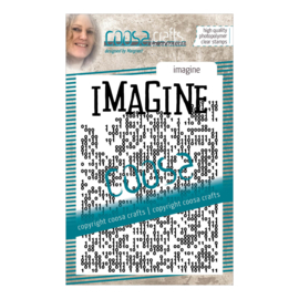 COOSA Crafts Clear Stamp #14 - Imagine A7