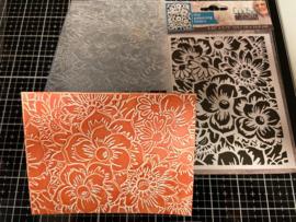 COOSA Crafts Embossing Folder - Bloom - 10/Pkg