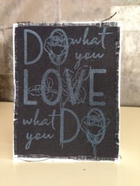 COOSA Crafts clear stamps A6 #2 - 'DO LOVE' - 10 Qty