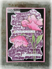 COOSA Crafts Clear Stamps #20 - Love my jeans - Bricklove A6