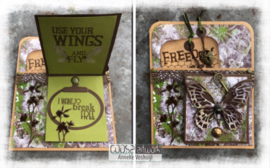 COOSA Crafts Clear Stamp #16 - Freedom A7