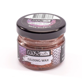 COOSA Crafts Gilding Wax - 20ml -  Jewels - Rose Quartz - 12/Pkg