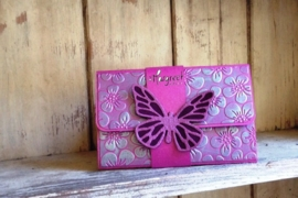 giftcardholder flowers & butterfly