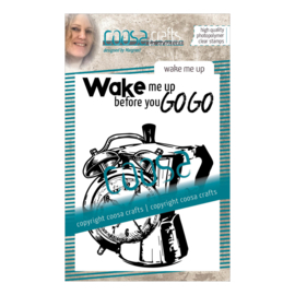 COOSA Crafts Clear Stamp #11 - Wake me Up A7