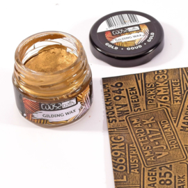 COOSA Crafts Gilding Wax - potje 20ml - gold-goud-gold - 12 Qty