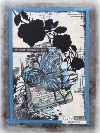 COOSA Crafts Clear Stamps #21 - Sending Flowers A6