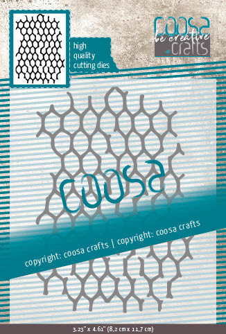 COOSA Crafts Cutting Die - Chicken Wire - 8/Pkg