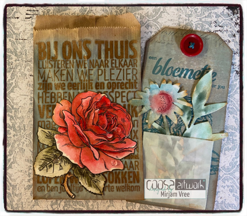 Postal Flowers 4 - I