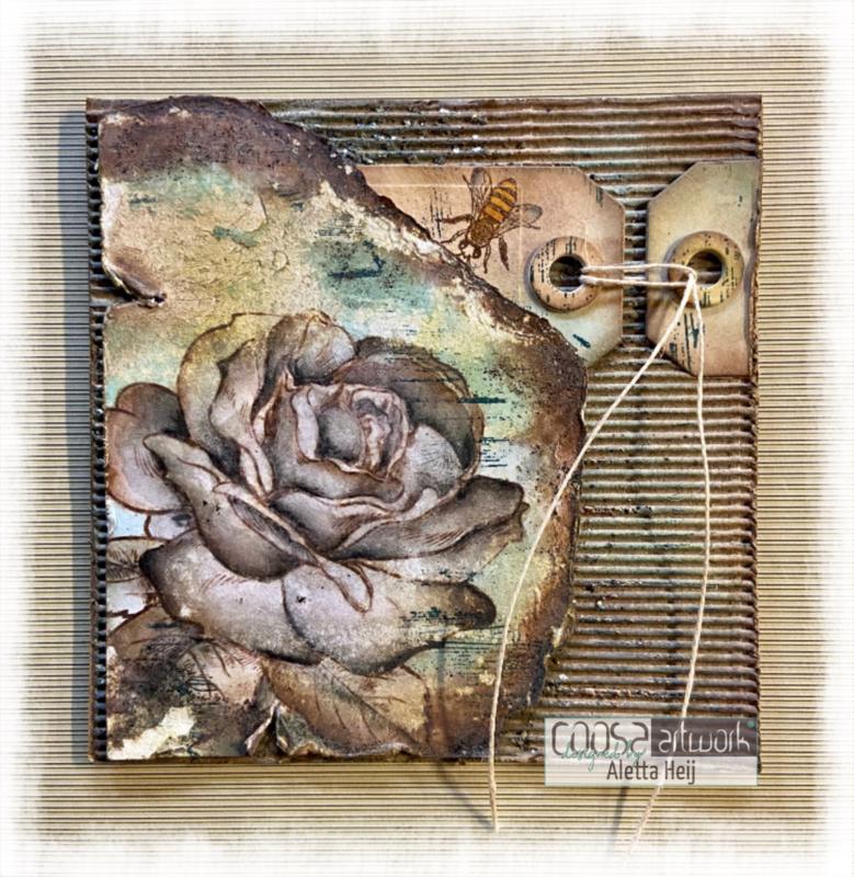 Postal Flowers 4 - V
