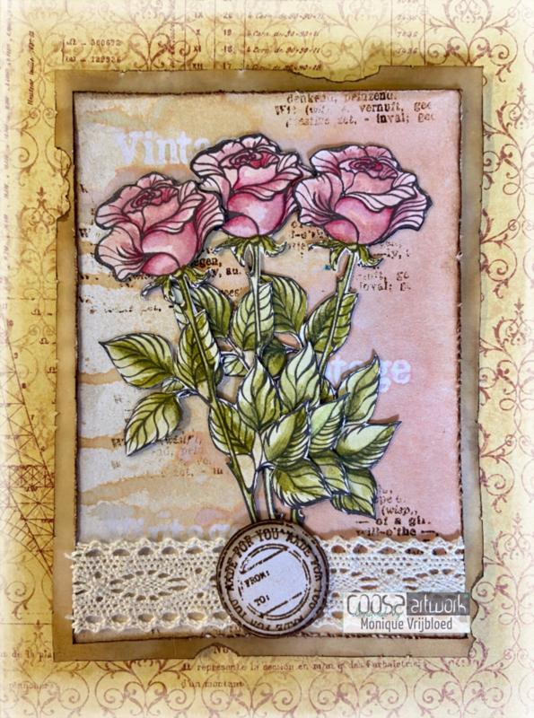 Postal Flowers 1 - I